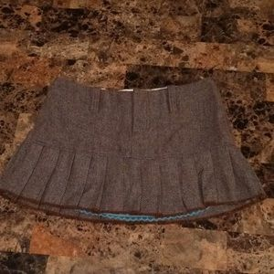 Abercrombie & Fitch wool skirt